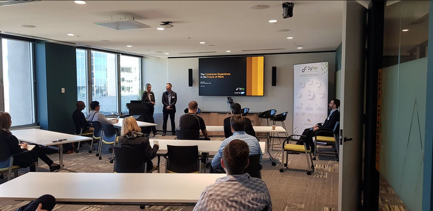 """SAP and Dyflex host SAP Fieldglass event in Perth """"Managing contractors, Simplifying Processes and Complaince"""""""
