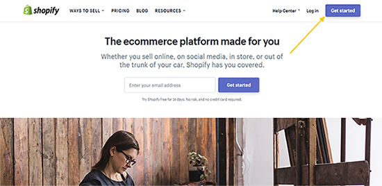Shopify Get Started