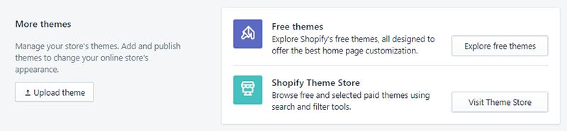 Shopify Upload Theme