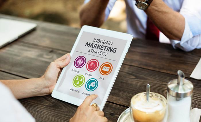 Inbound Marketing on iPad
