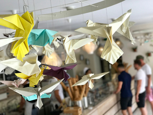 acquire new customers - paper made birds
