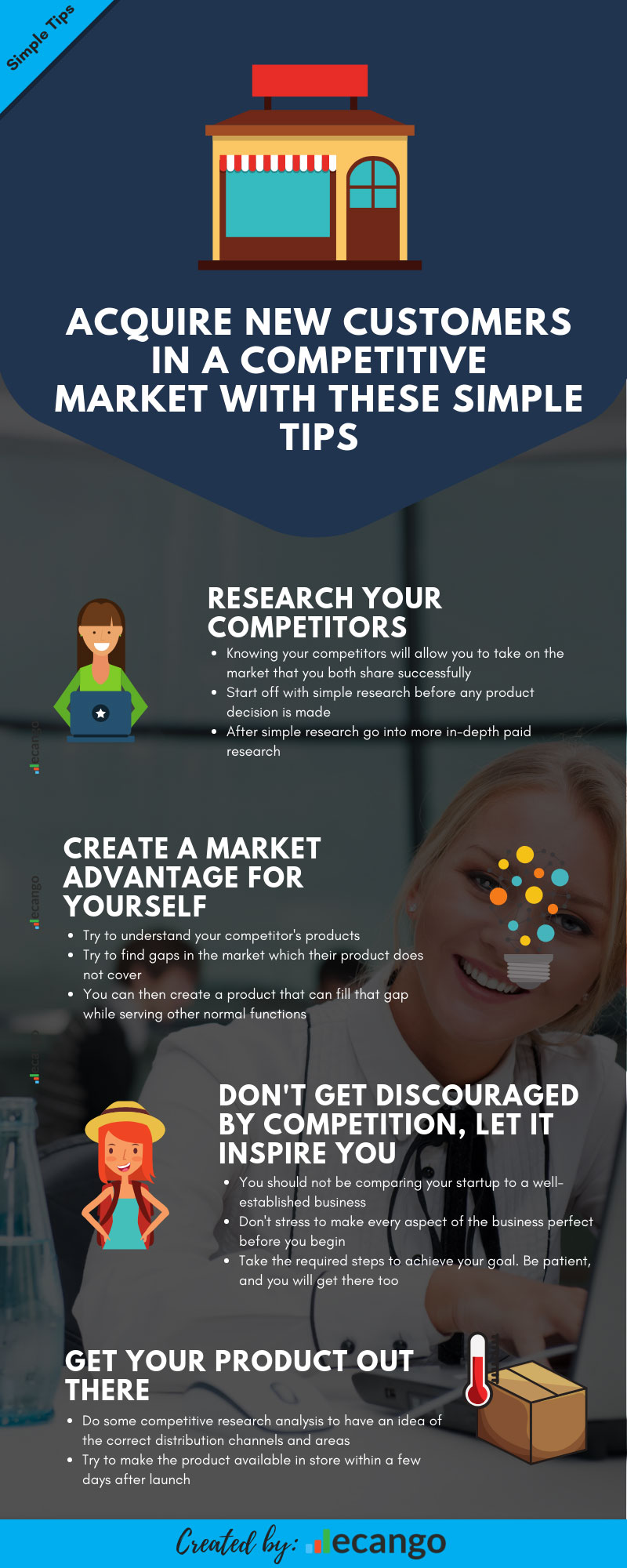 Acquire new customers with these simple tips
