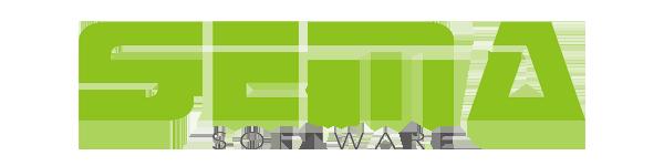 SEMA software logo.