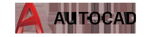 Autodesk AutoCAD software logo.