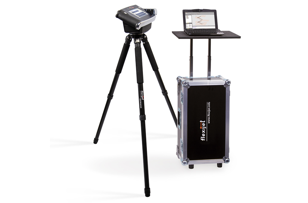 Image of Flexijet 3D hardware with the heavy duty 'Pro Case'.