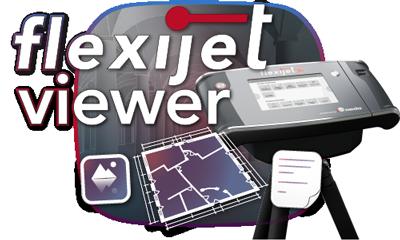 Image of Flexijet Viewer logo.