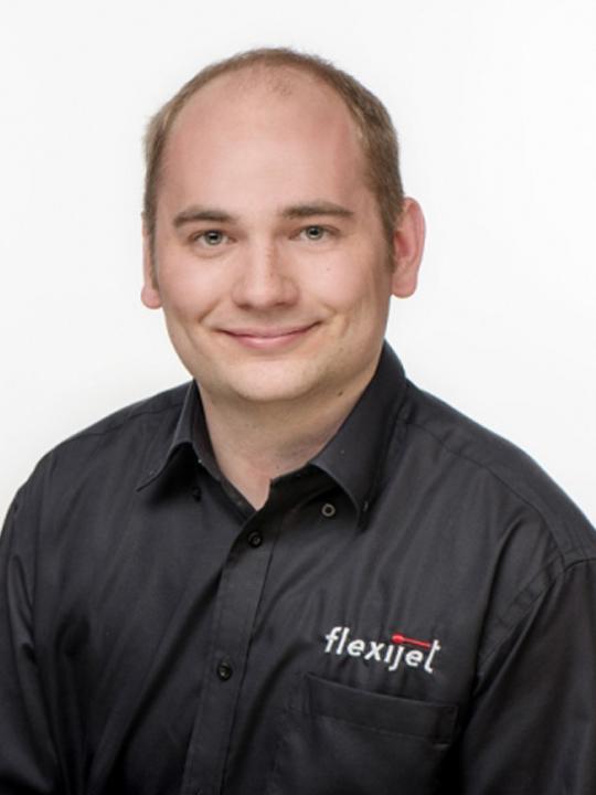 Peter Dressler, head of Support & Training Flexijet GmbH.
