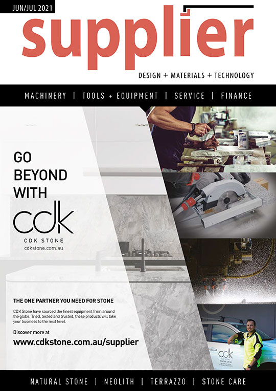 Front cover image of Supplier magazine June 2021 issue.
