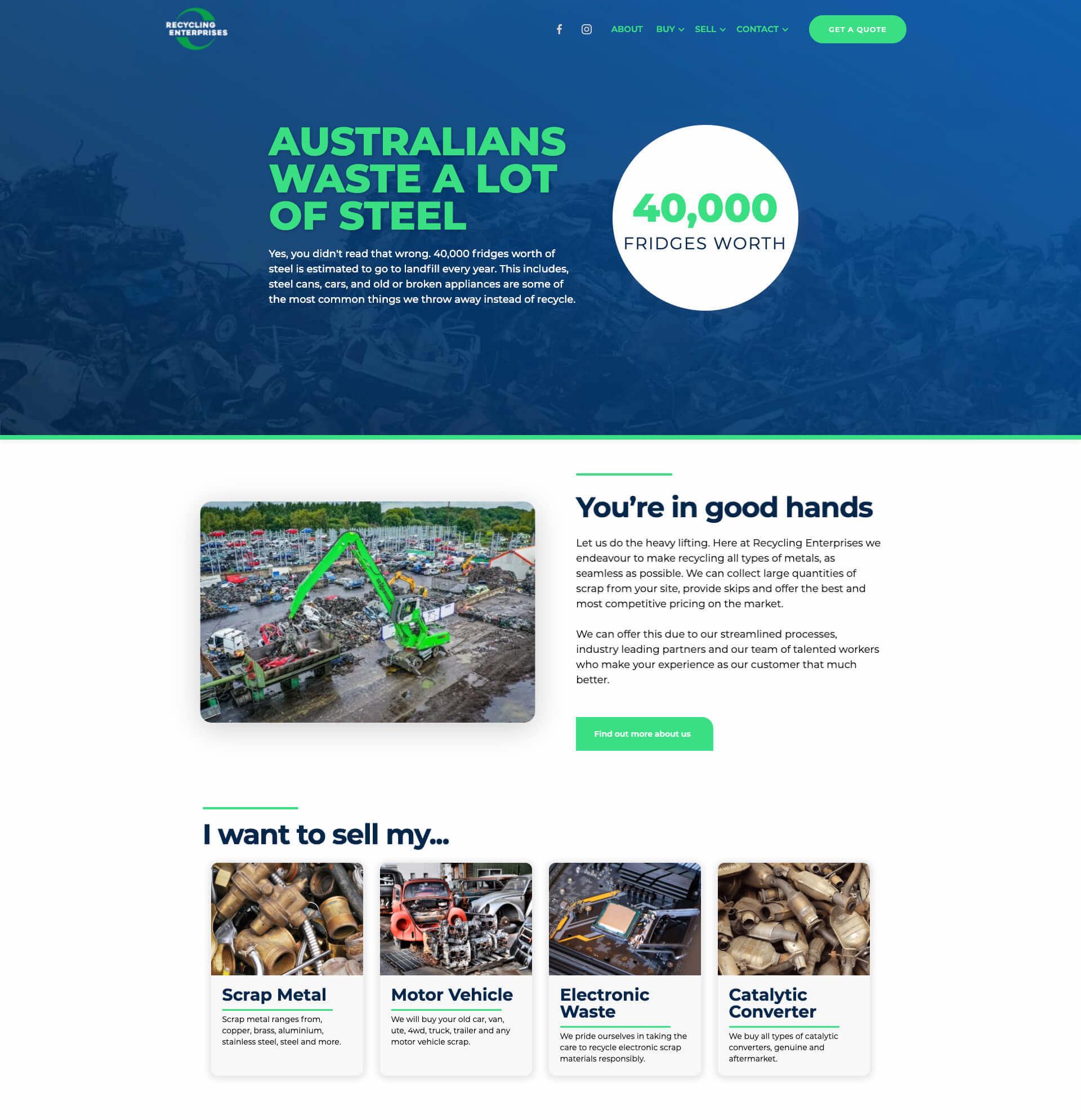 Recycling Enterprises Homepage