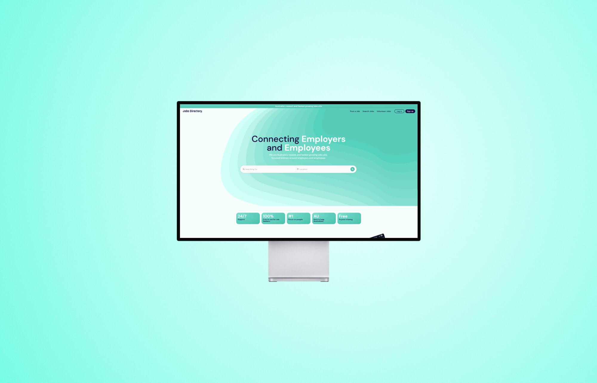 Jobs Directory Website Design