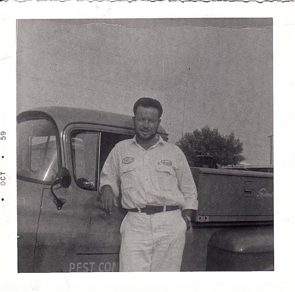 Harper Pest Control in 1962
