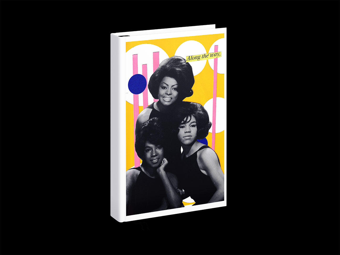 Collage book covers by Lauren Ortega