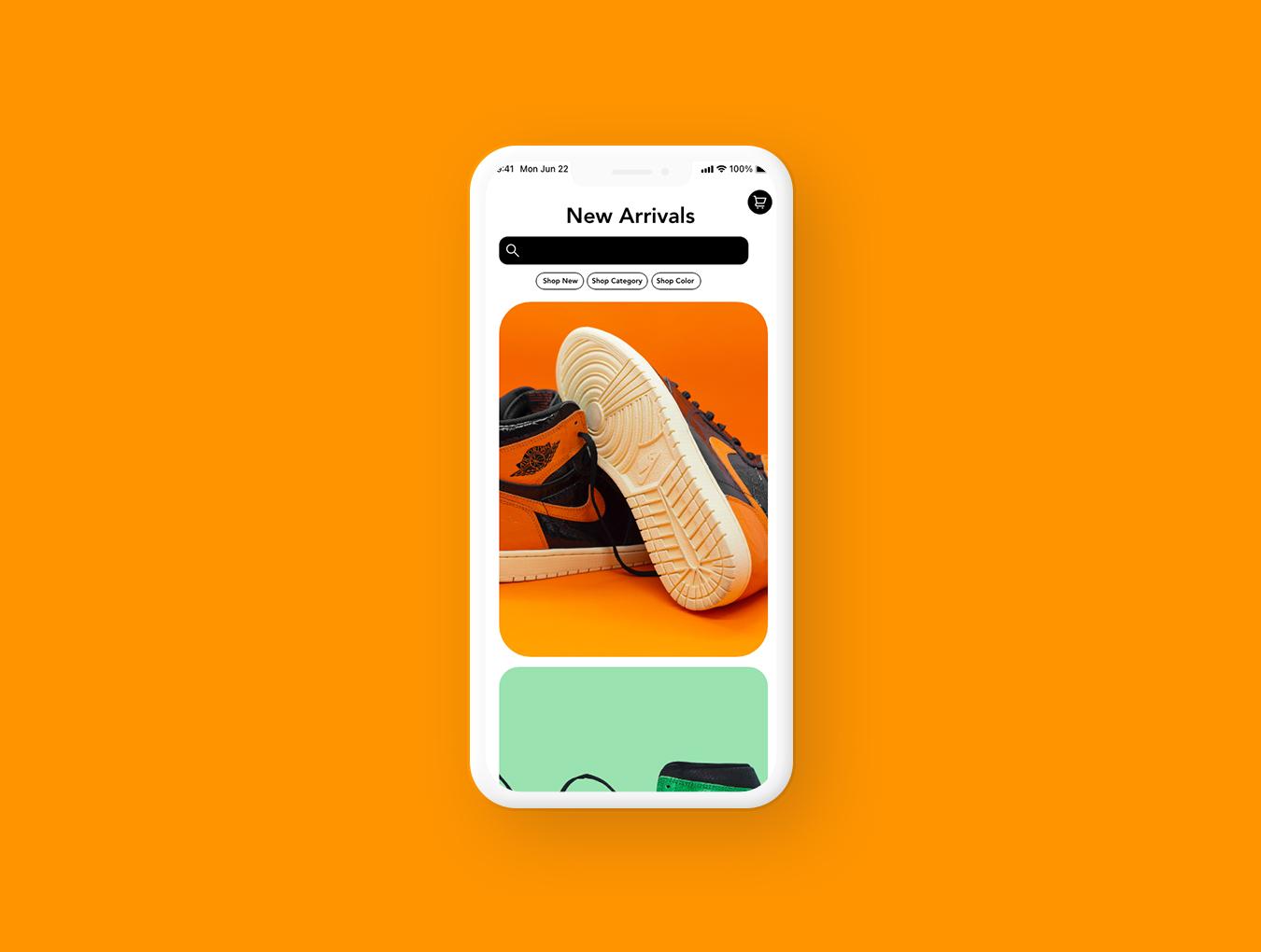 Nike Prototype App by Lauren Ortega