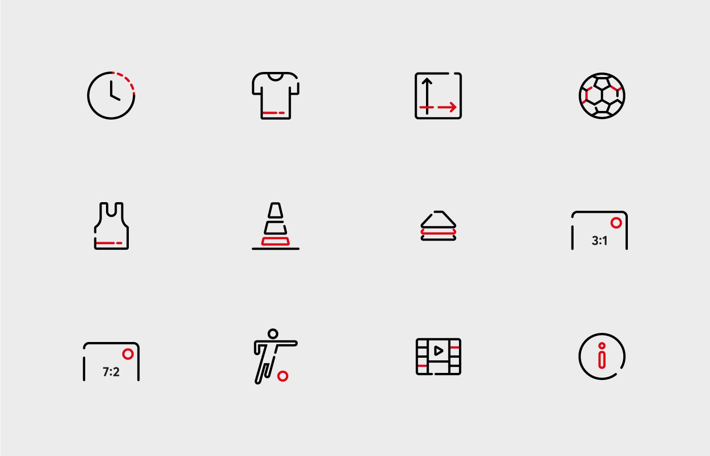 VTON line icons
