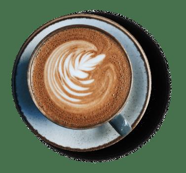 Bild zeigt einen Kaffee