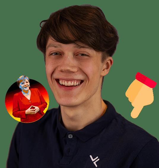 Portrait Bild mit Fun Facts über Florian