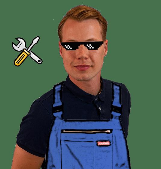 Portrait Bild mit Fun Facts über Tim
