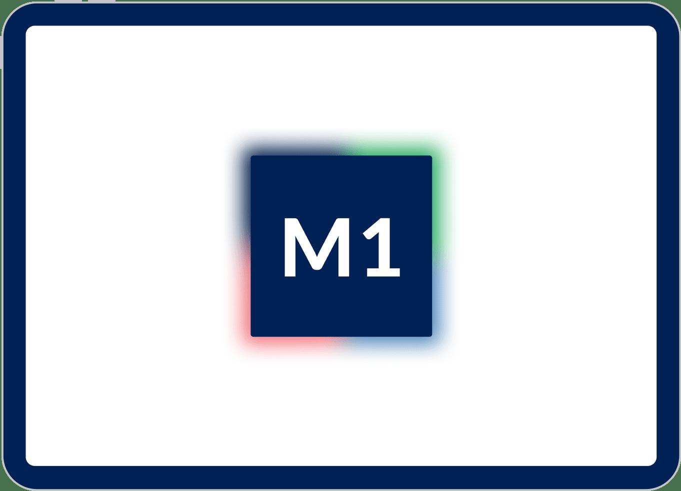 Mock Up von iPad Pro mit M1 chip