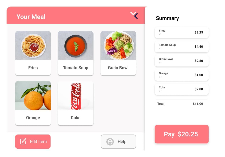 Bild von VisioLabs Checkout Interface