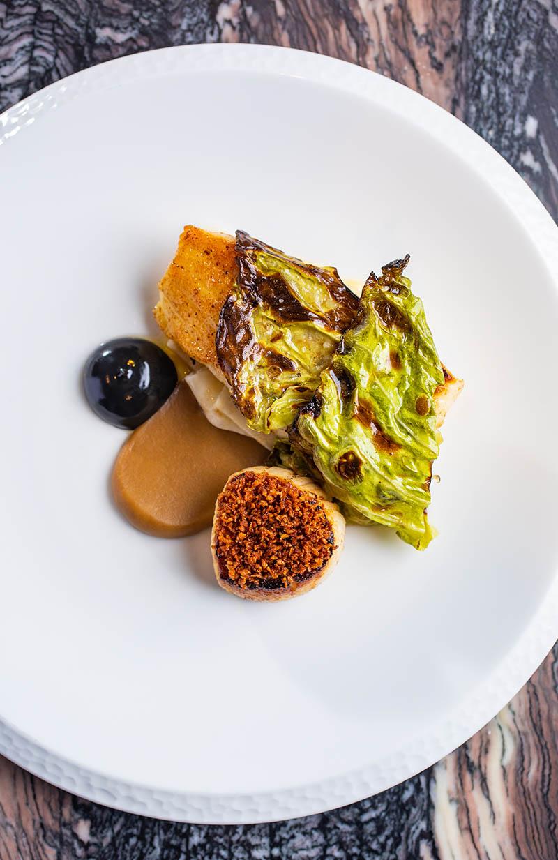 Stunning food at Upstairs by Tom Shepherd