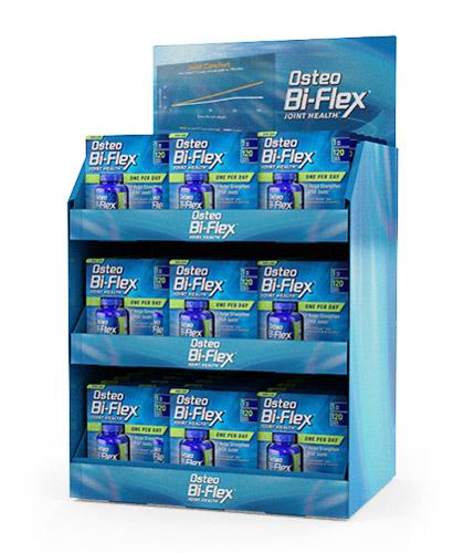 Osteo Bi-Flex Corrugated Packaging Display