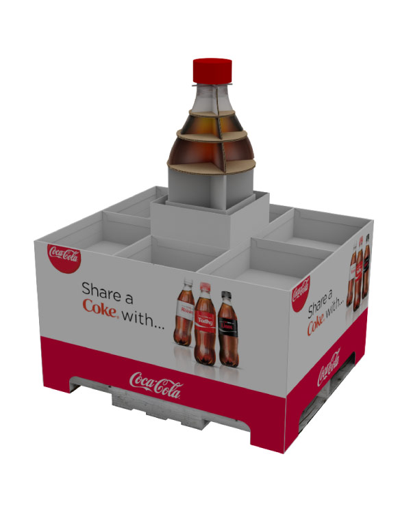 Corrugated Products Packaging Coke