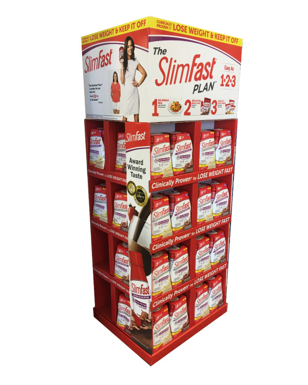 Corrugated Products Packaging Slimfast