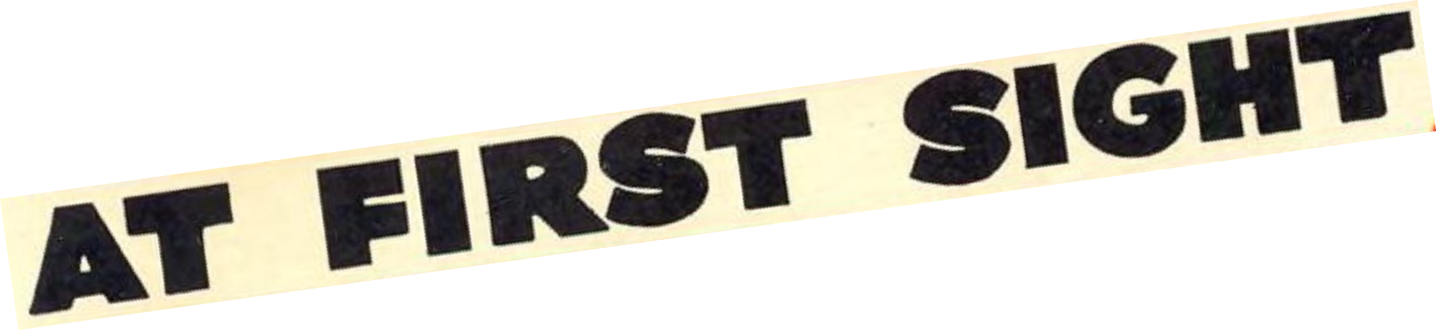 Late Works at first sight logo.