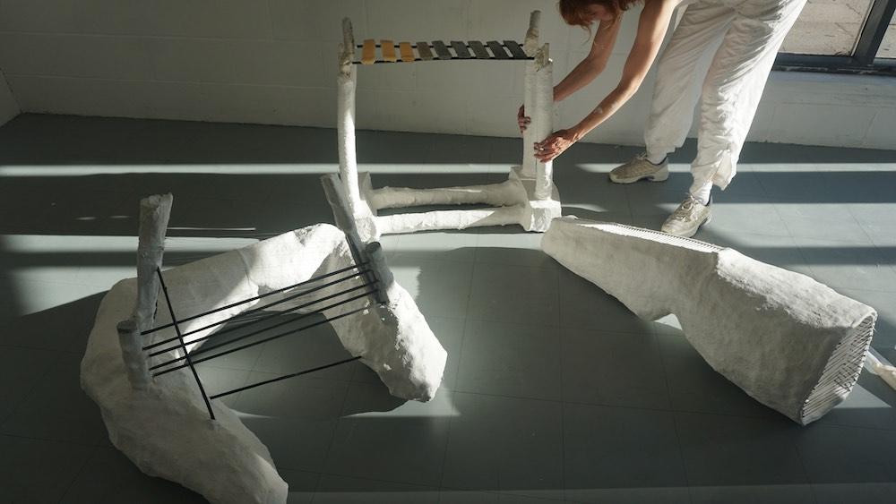 "Mathilda Bennett-Greene and their ""of Tool"" set"