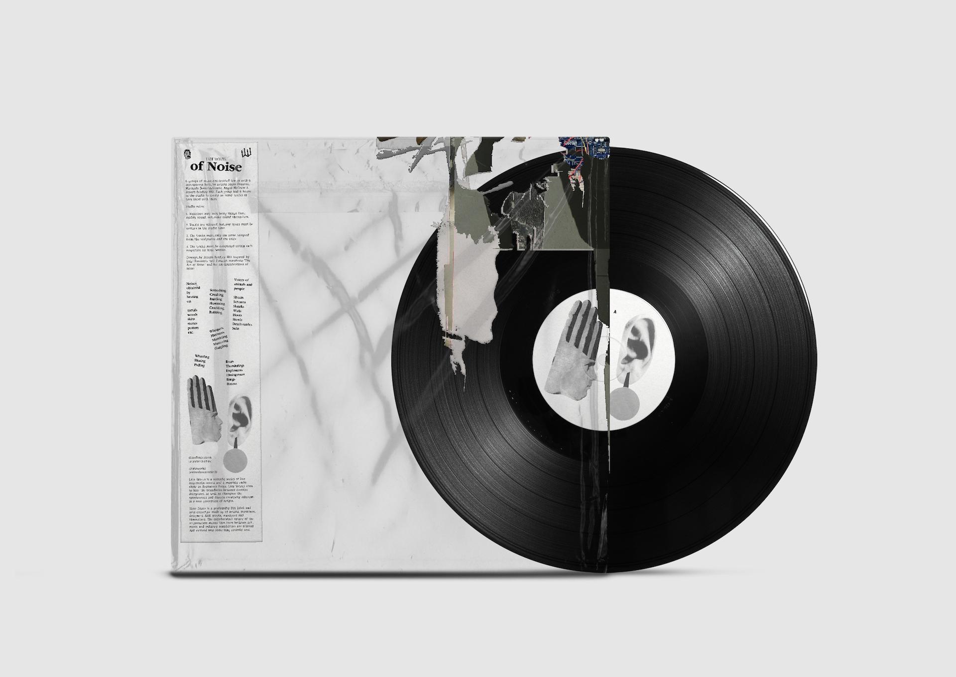 "Late Works of Noise 12"" vinyl"