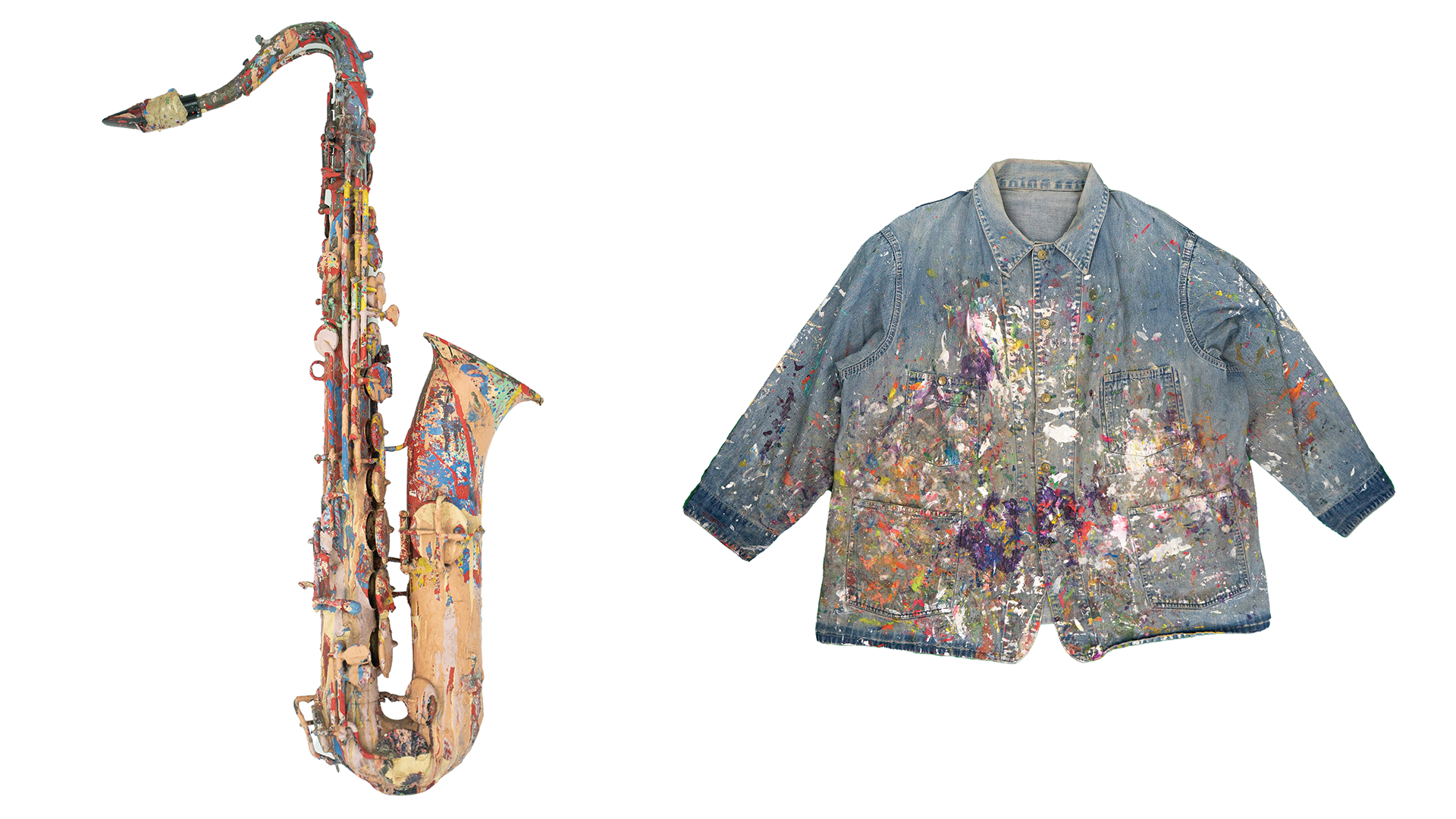 Not for Sale: Saxophone & Smock