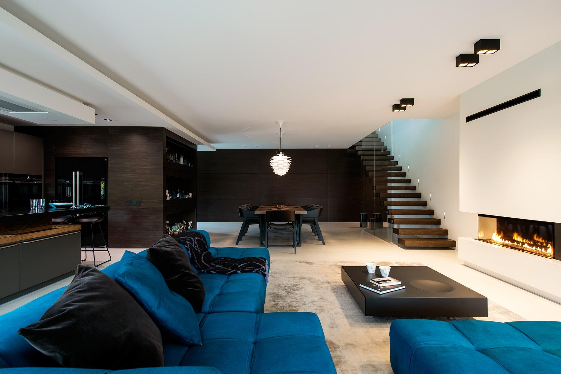 Living room of a private estate in Pirita