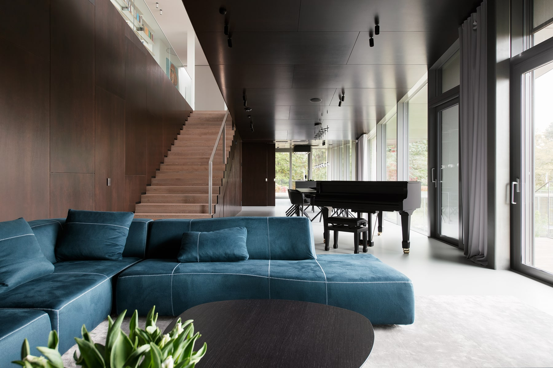 Living room of a private estate in Merivälja