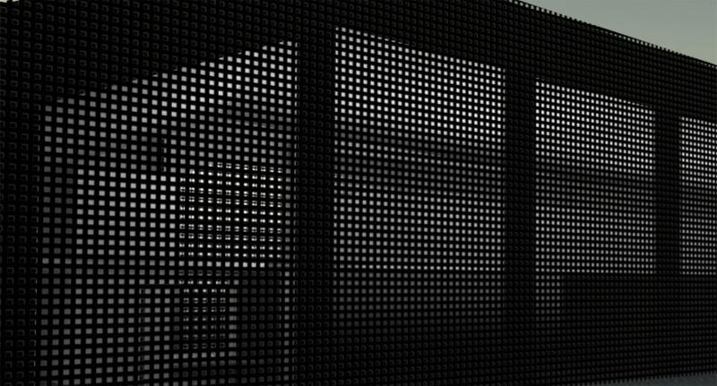 Art center wall