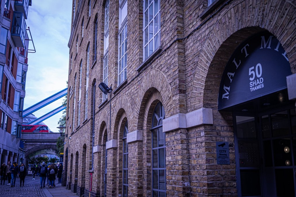 Management Services - restored old brewery in Shad Thames in Bermondsey