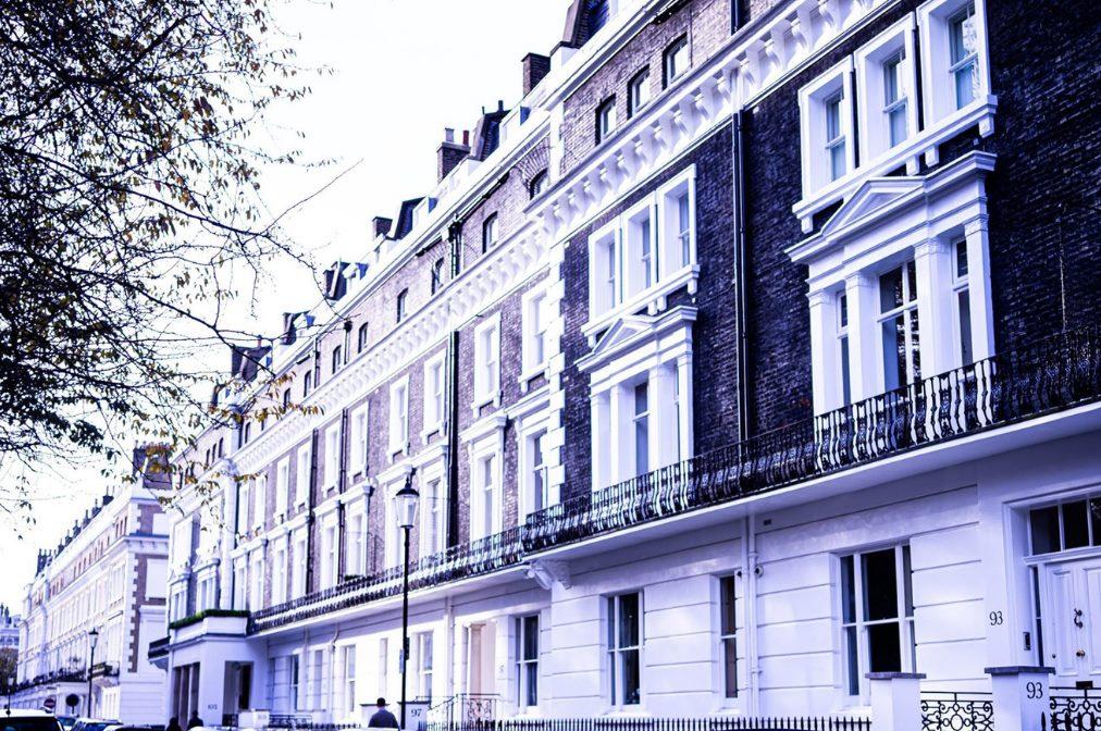 Management Services - Georgian terrace block in Fulham, West London