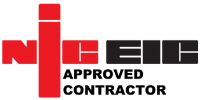 NICEIC approved contractor logo for Property Maintenance services
