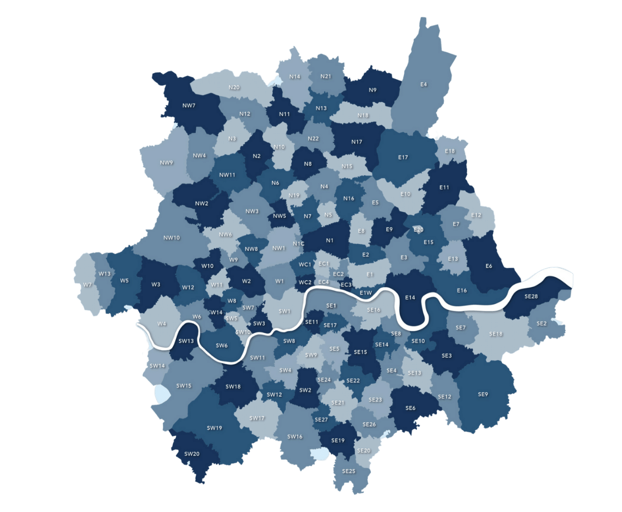 Property Maintenance service coverage area in London