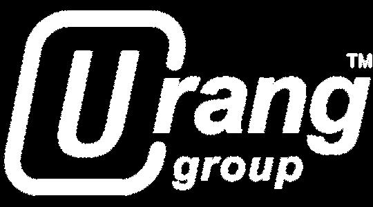 Urang Group logo - white, transparent