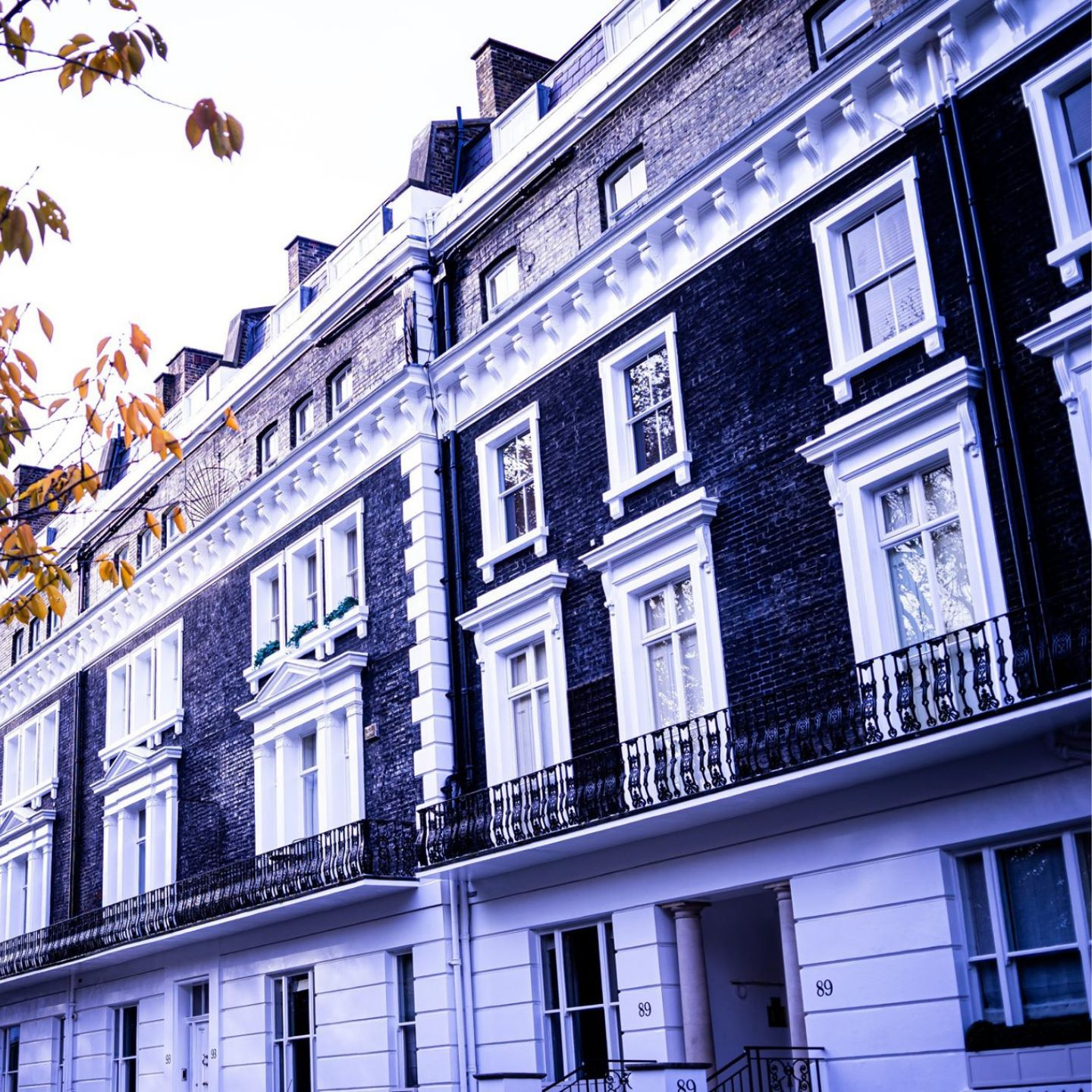 Block in Fulham, West London managed by Urang Property Management