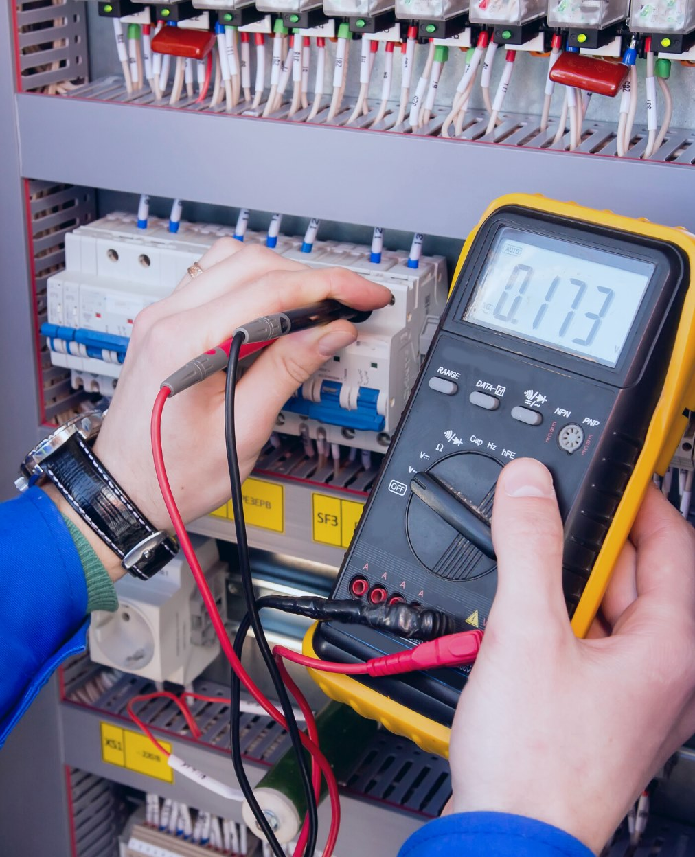 Electrical Safety Certificate test by London Electrician