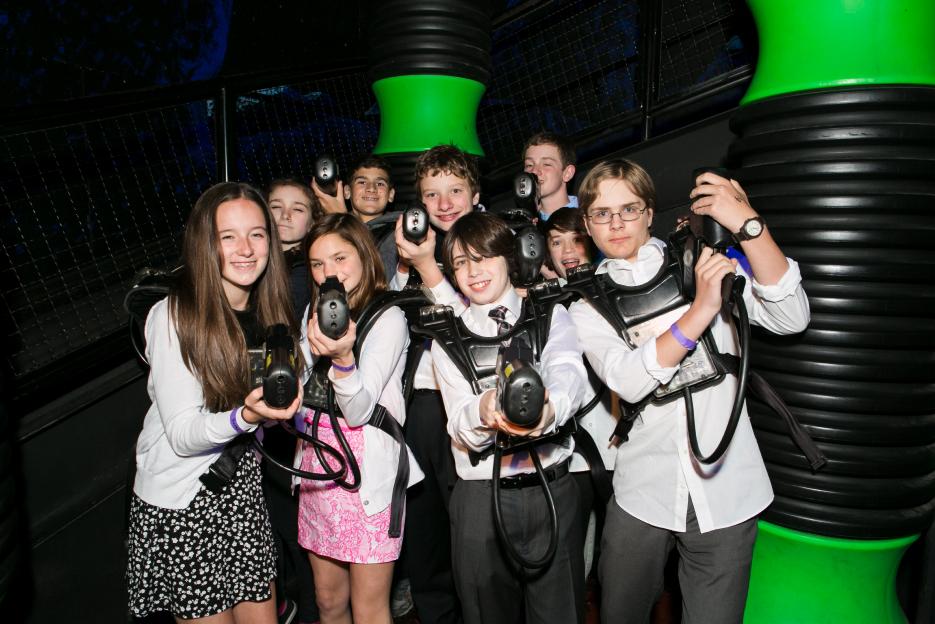 LaserTag Kids Bar Mitzvah