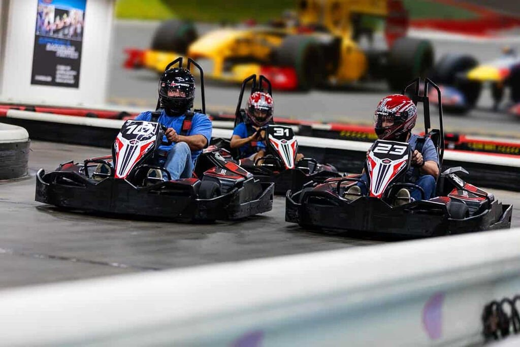Race with friends at K1 speed