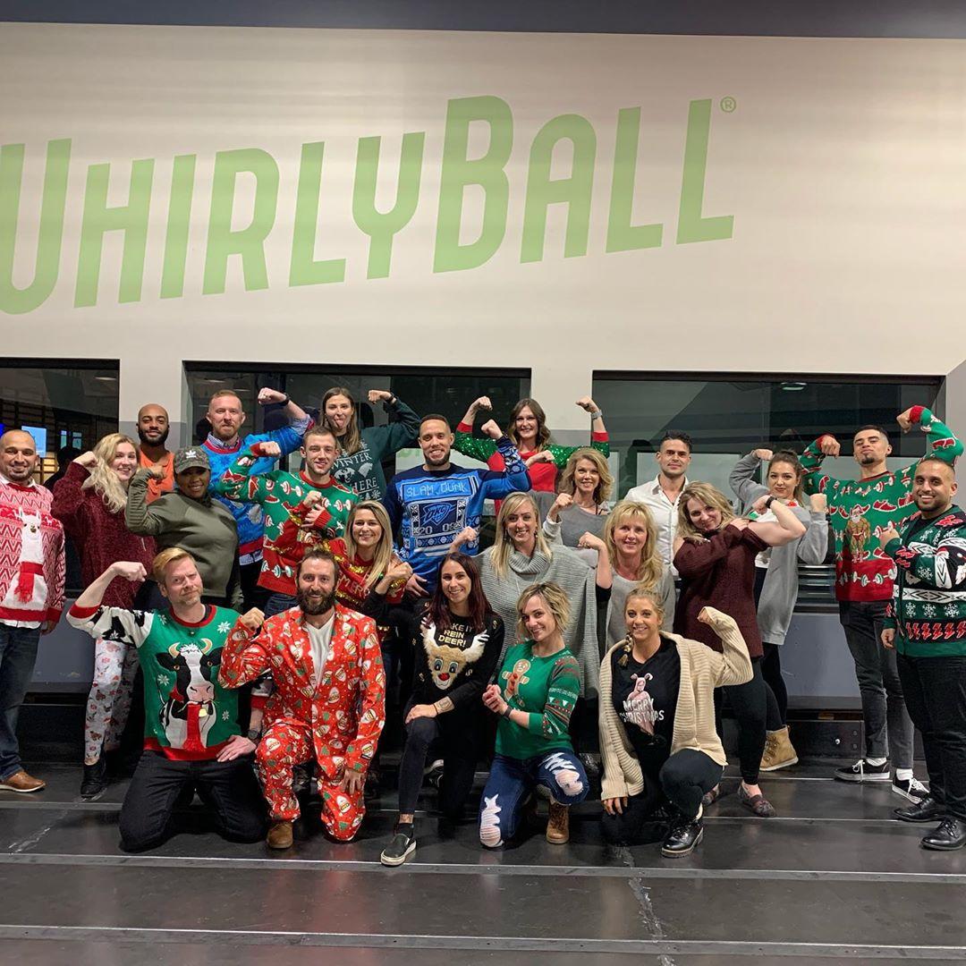 Holiday Party at WhirlyBall