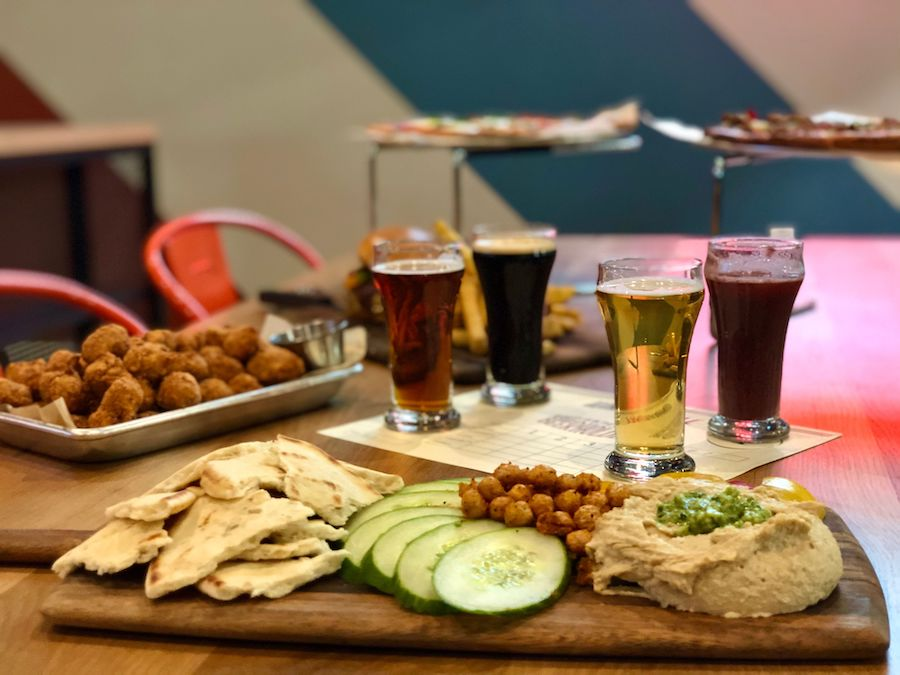 Food and drink at The Pivot Room