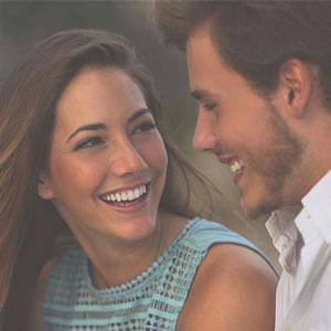 straight smiling couple orthodontics