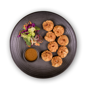 Deep fried momo - neaplese dumplings