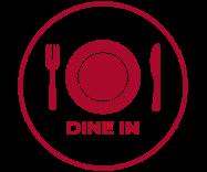 dine in - service icon