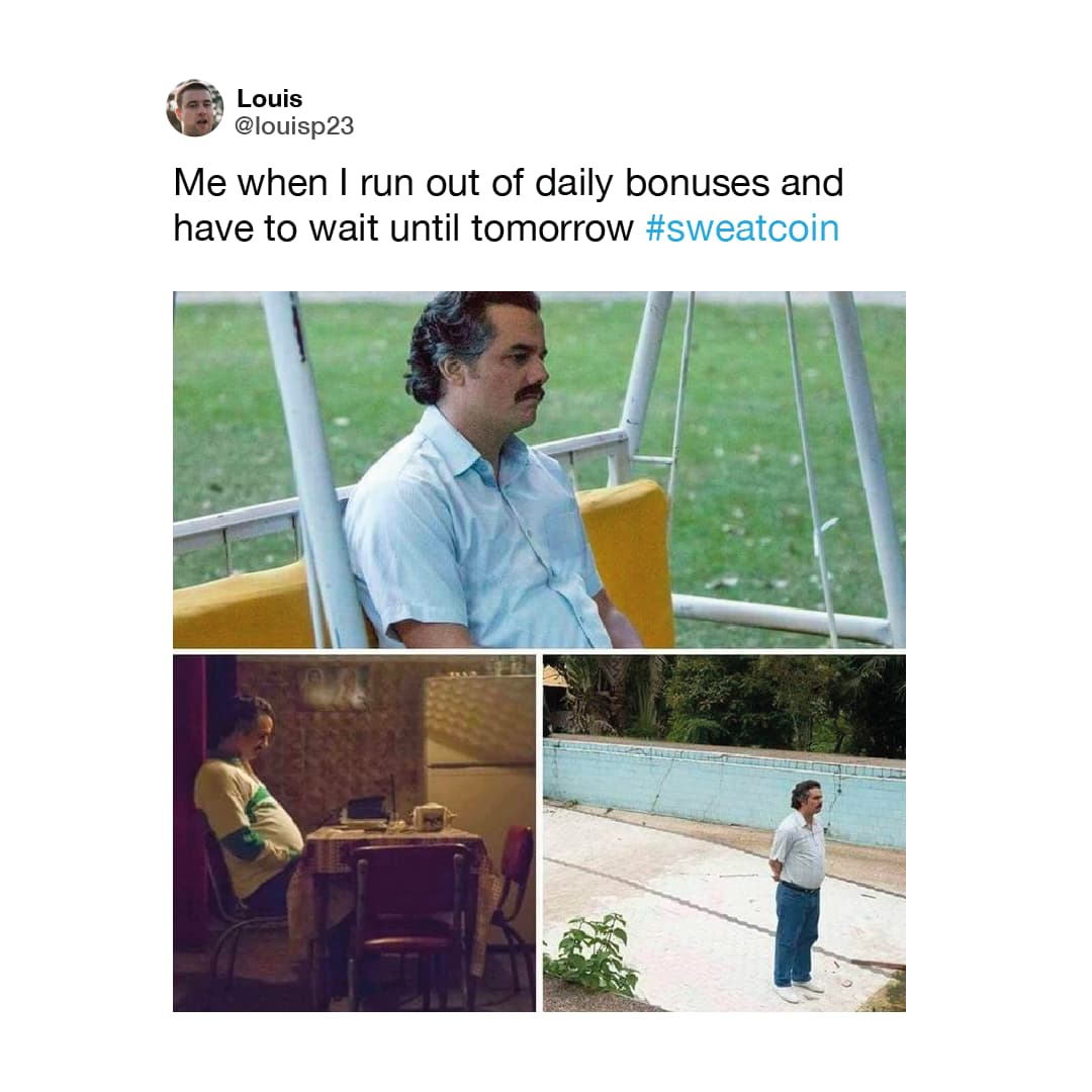 Sweatcoin Meme 01