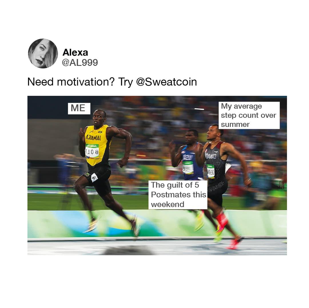 Sweatcoin Meme 03